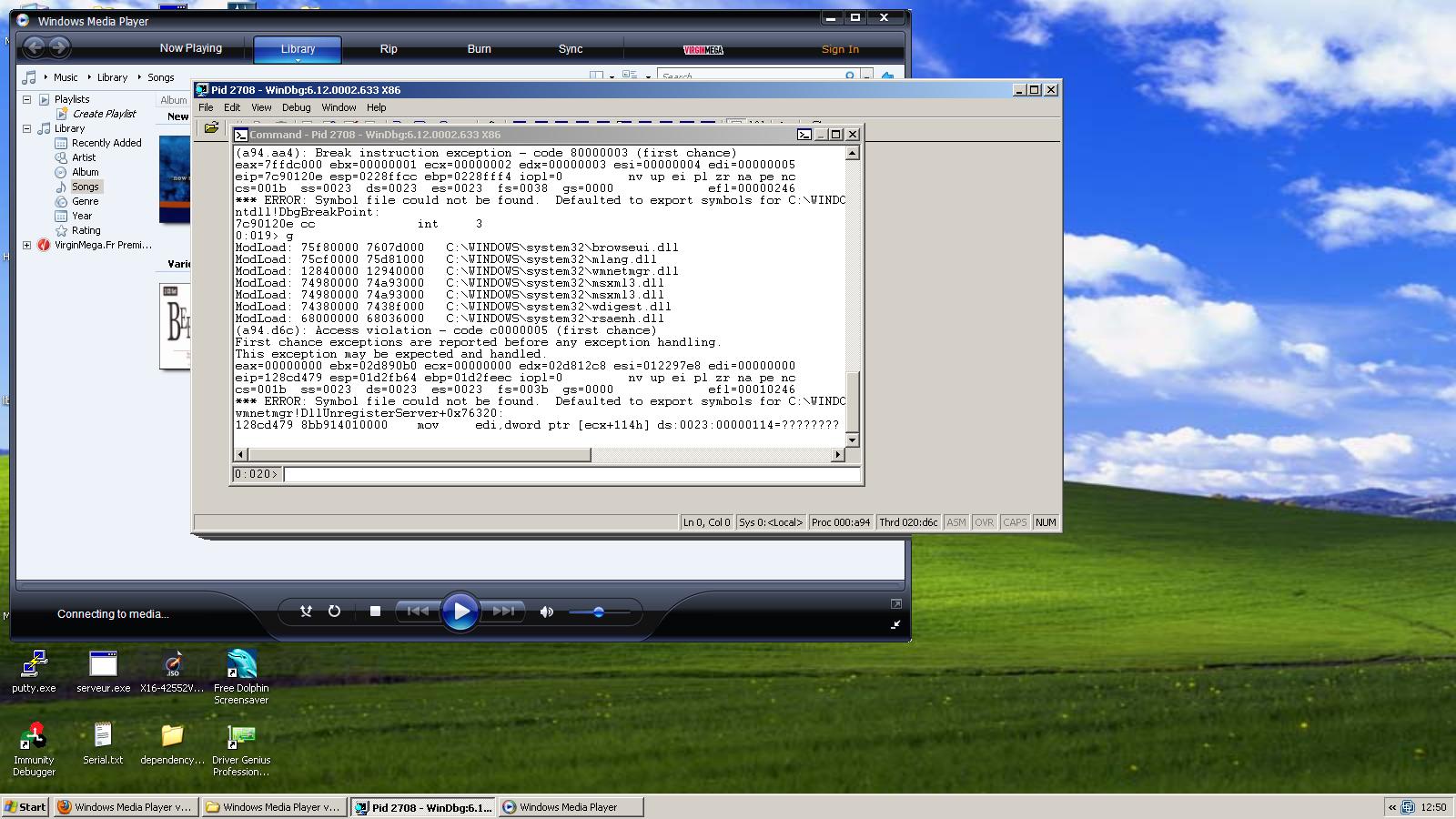Microsoft Windows Media Player 11 0 5721 5262 - Remote