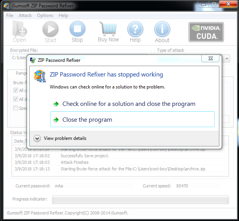 isumsoft zip password refixer registration code free download